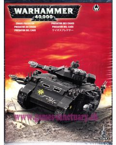 Warhammer 40000 (JdF) - Space Marines du Chaos - Predator
