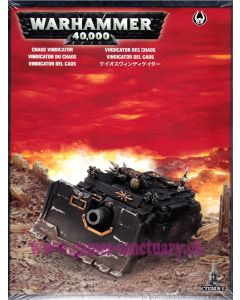 Warhammer 40000 (JdF) - Space Marines du Chaos - Vindicator