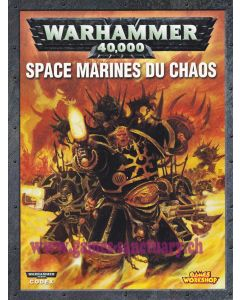 Warhammer 40000 (JdF) - Space Marines du Chaos - Codex (Edition 2012)