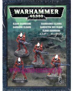 Warhammer 40000 (JdF) - Eldars - Clip de 4 Figurines Gardiens