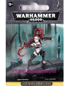 Warhammer 40000 (JdF) - Eldars Noirs - Lelith Hesperax