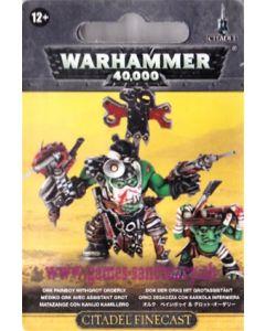 Warhammer 40000 (JdF) - Orks - Médiko avec Assistant Grot