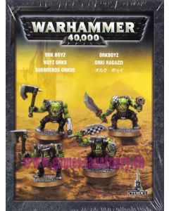 Warhammer 40000 (JdF) - Orks - Clip de 4 Figurines Boyz