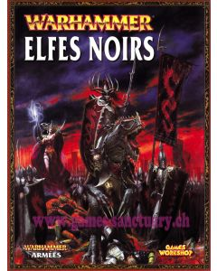 Warhammer (JdB) - Elfes Noirs - Livre Armée (Edition 2012)