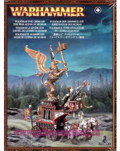Warhammer (JdB) - Empire - Volkmar le Sévère sur l'Autel de Guerre de Sigmar
