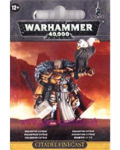 Warhammer 40000 (JdF) - Chevaliers Gris - Inquisiteur Coteaz