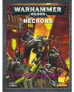 Warhammer 40000 (JdF) - Nécrons - Codex (Edition 2012)