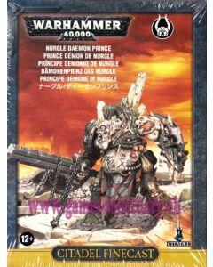 Warhammer 40000 (JdF) - Space Marines du Chaos - Prince Démon de Nurgle