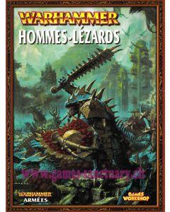 Warhammer (JdB) - Hommes-Lézards - Livre Armée (Edition 2012)