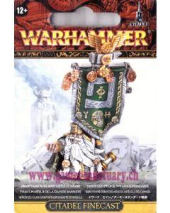 Warhammer (JdB) - Nains - Thane avec Grande Bannière