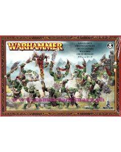 Warhammer (JdB) - Orques & Gobelins - Orques Sauvages