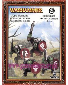Warhammer (JdB) - Orques & Gobelins - Guerriers Orques (4 Figurines)