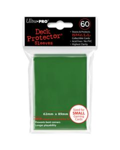 UP - Deck Protector Sleeves - Small Size (60) - Green