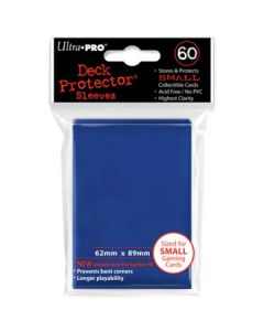 Deck Protector Sleeves - Small Size (60) - Blue