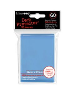 Deck Protector Sleeves - Small Size (60) - Lt. Blue