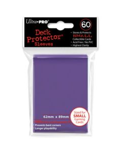 UP - Deck Protector Sleeves - Small Size (60) - Purple