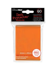 Deck Protector Sleeves - Small Size (60) - Orange
