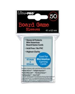 Board Game Sleeves - Mini American 41 x 63 mm (50)