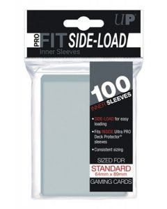 UP - Inner Sleeves - PRO-Fit Side Load - Standard Size (100) - Clear
