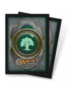 Magic - Deck Protector Mana Symbol (3) - Green Forrest (80)