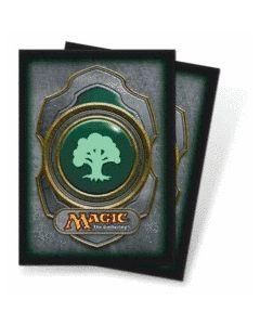 Magic - Deck Protector Mana Symbol (3) - Green Forrest (80)