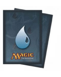Magic - Deck Protector Mana Symbol (2) - Blue Island (80)