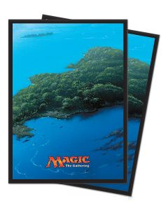 Magic the Gathering - Mana 5 - Island - Deck Protector (80)