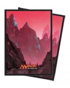 Magic the Gathering - Mana 5 - Mountain - Deck Protector (80)