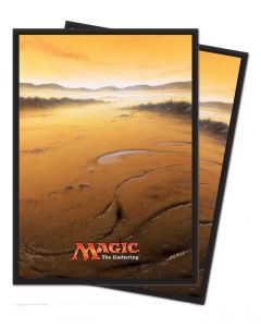 Magic the Gathering - Mana 5 - Plains - Deck Protector (80)