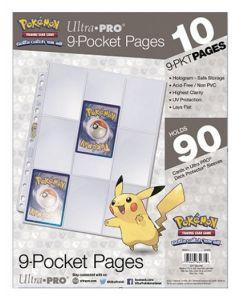 Pokémon - Pages à 9 Pochettes (10 pages)