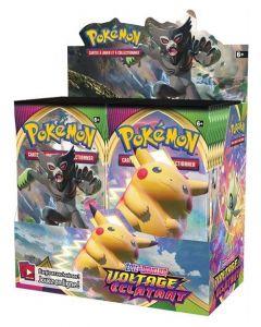 Pokémon - Epée et Bouclier - Voltage Eclatant - Boite de 36 Boosters