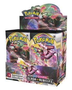 Pokémon - Epée et Bouclier - Clash des Rebelles - Boite de 36 Boosters