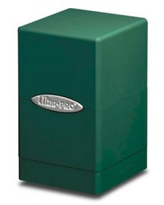 Satin Tower - Deck Box - Green