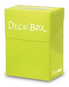 UP - Solid - Deck Box - Bright Yellow