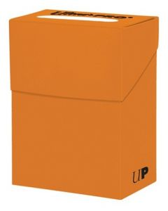 Solid Deck Box - Pumpkin Orange