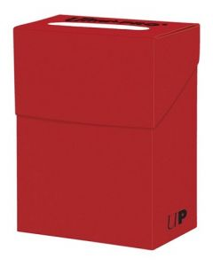 Solid Deck Box - Red
