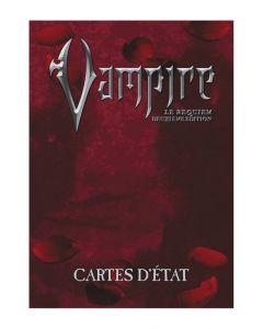 Vampire - Le Requiem (JdR 2ème Edition) - Cartes d'Etat