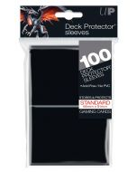 Deck Protector Sleeves - Standard Size (100) - Black