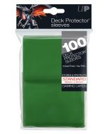 Deck Protector Sleeves - Standard Size (100) - Green
