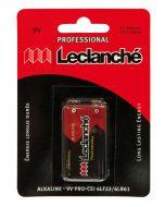 Piles - Leclanché Professional - Bloc 9V