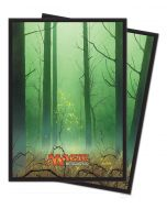Magic the Gathering - Mana 5 - Forest - Deck Protector (80)
