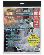 Platinum - Pages à 9 Pochettes (10 pages)